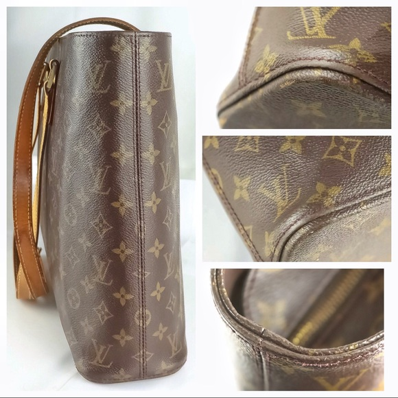 8da75115fa Louis Vuitton Handbags - Genuine Louis Vuitton Monogram Canvas Luco Tote